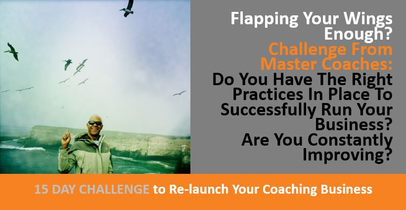 Challenge From Master Coaches - Right Practices In Place To Successfully Run Your Business, Are You Constantly Improving