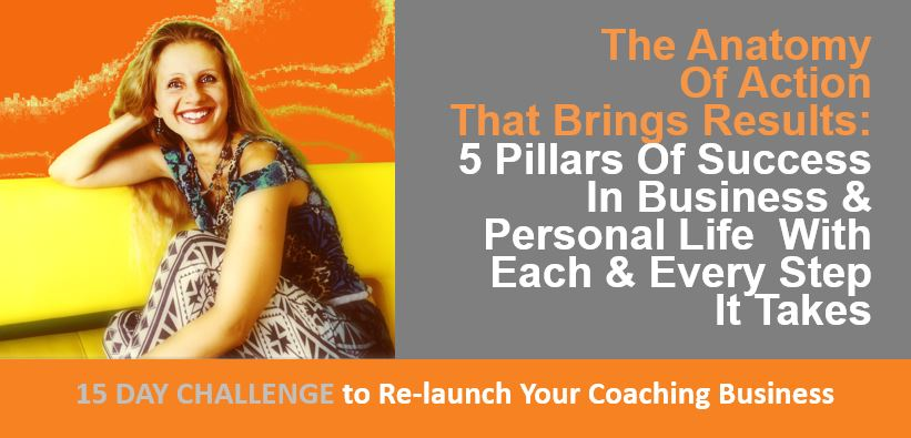 The Anatomy Of Action That Brings Results - 5 Pillars Of Success In Business - by olga kostrova