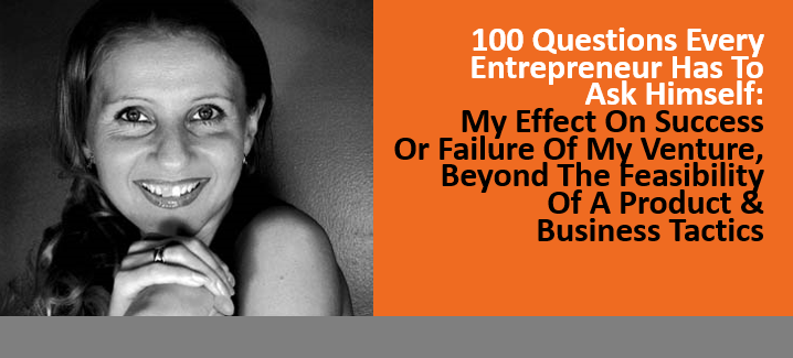 Effect On Success Or Failure Of My Venture, Beyond The Feasibility Of A Product & Business Tactics